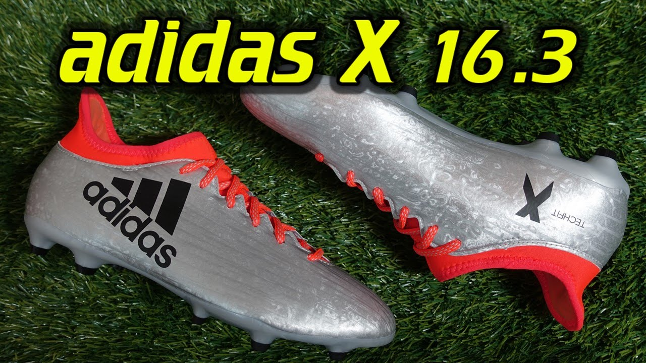 Adidas X 16.3 (Mercury Pack) - Review + On Feet - YouTube 2163325bbe