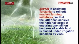 Around East Africa -Japan, Tanzania in irrigation drive thumbnail
