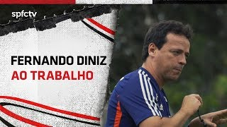 FERNANDO DINIZ AO TRABALHO   SPFCTV