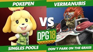 Smash Ultimate Tournament - Vermanubis (Ganondorf) Vs. Pokepen (Isabelle) DPOTG18 SSBU Pools