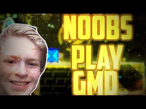 FIRST TRY STEREO MADNESS ~ Noobs Play Geometry Dash #5 With Hamish