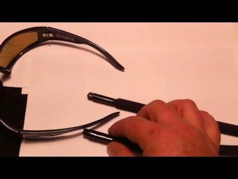 b9e7053b78fd Side Attach Floating Eyewear Retainer - YouTube
