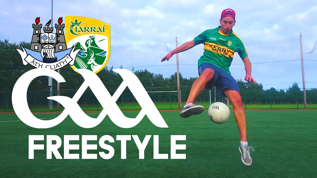 Crazy GAA Freestyle Skills 2015 - In Ireland we have our own native sport called GAA (Gaelic Football)