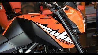 2017 KTM Duke 200 FirstLook,Walkaround and Exhaust Note