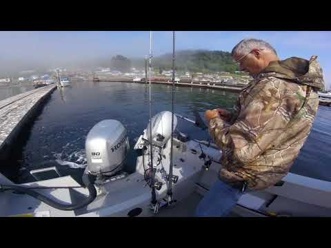 Sekiu Salmon Fishing 2018 Part 1