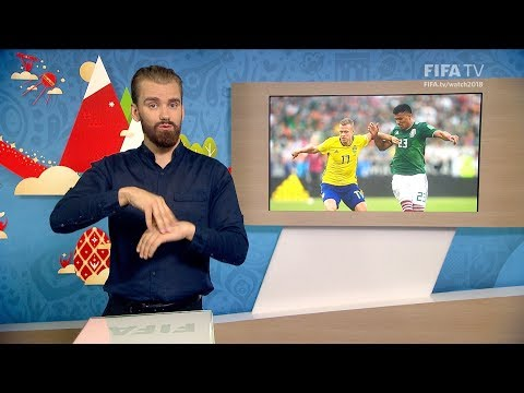 FIFA WC 2018 - MEX vs. SWE – for Deaf and Hard of Hearing - International Sign