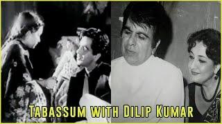 Dilip Kumar and Baby Tabassum in the classic film Jogan (1950) | Tabassum Talkies