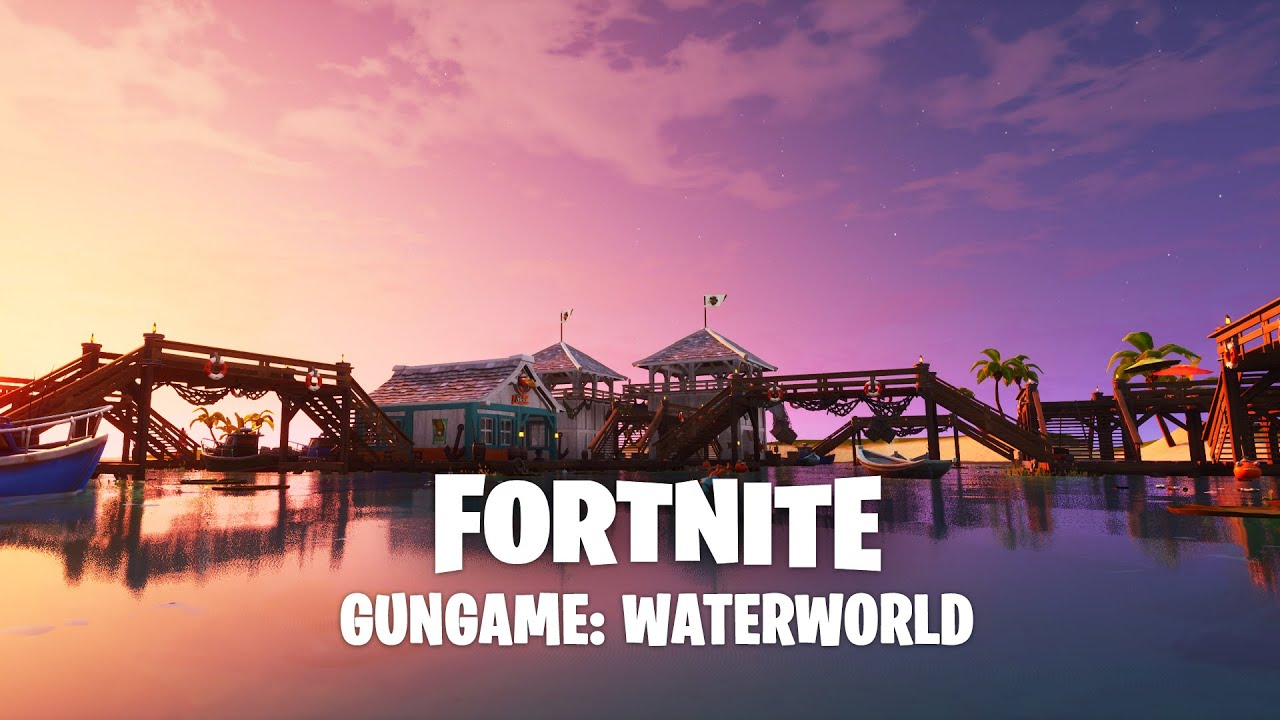 Fortnite Creative - GUNGAME: WATERWORLD - Trailer