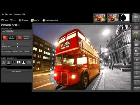 Smart Photo Editor - How To Select Areas