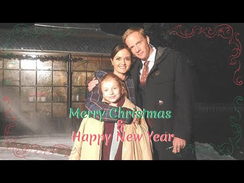 Merry Christmas and Happy New Year  Rupert PenryJones & Danica McKellar