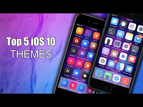 Top 5 Themes Compatible with iOS 10 - iOS 10.3.3