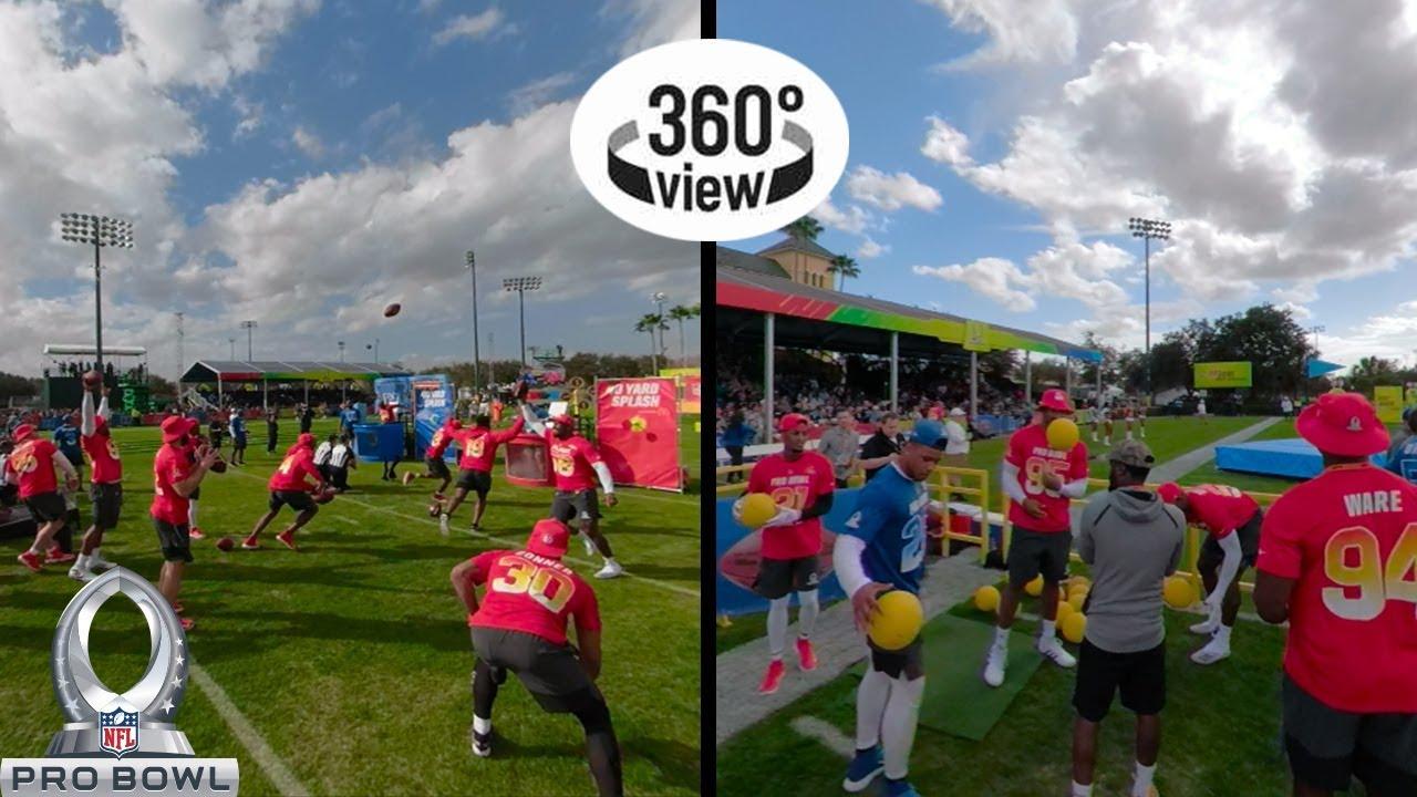 Pro Bowl Skills Showdown All-Access in 360º