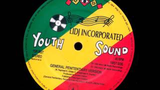 "Lidj Incorporated ‎- G.P. + Dub - 12"" Youth Sound Records 1990 - LATE DIGITAL 90'S DANCEHALL"