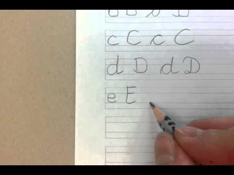 01) Deutsche Buchstaben Teil 1 Schreiben Und Aussprechen