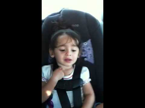 Baby singing just the way you are, Bruno Mars
