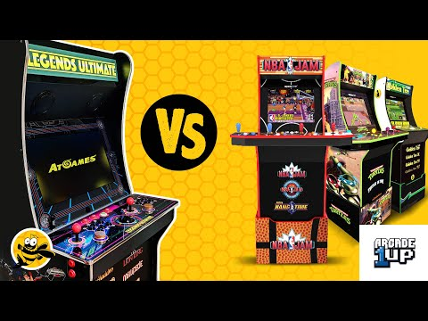 AtGames Legends Ultimate vs. Arcade 1Up - Which Should You Buy? from FishBee Productions