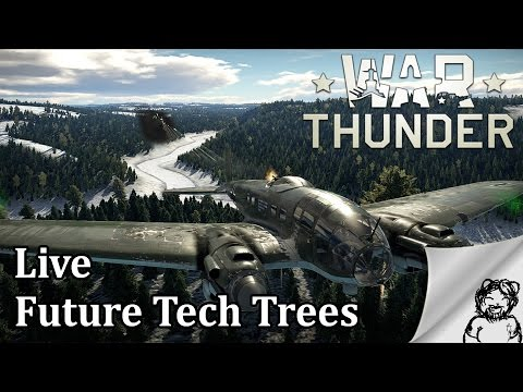 War Thunder - Live - Future Tech Trees