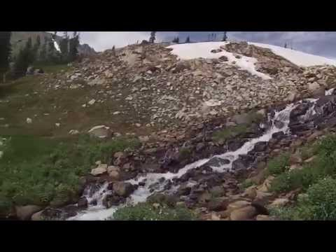 Hiking, Indian Peaks Wilderness, Colorado. Filmed by Richard Hicks Gopro Video01