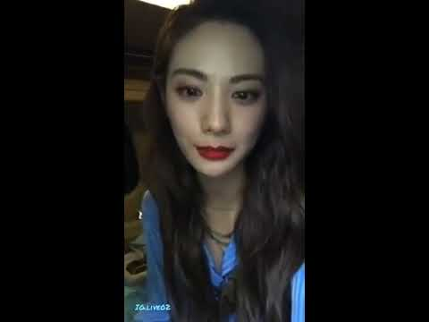 Im Jin Ah Nana Live at Instargam (010818)