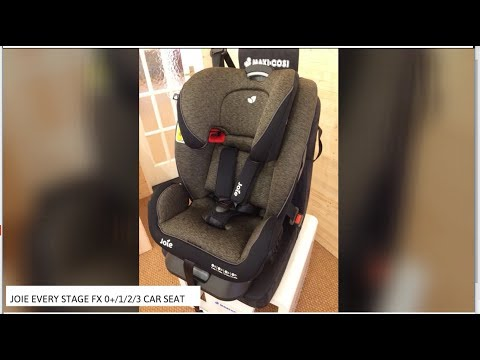 Joie Every Stage FX 0+/1/2/3 Car Seat Review | BuggyPramReviews