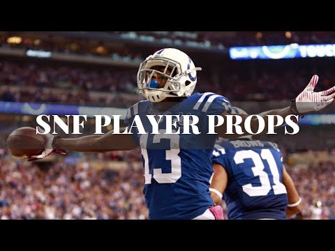 Free Picks | SNF Seattle 13 Point Favorites | Props Betting Market is Money Tonight |