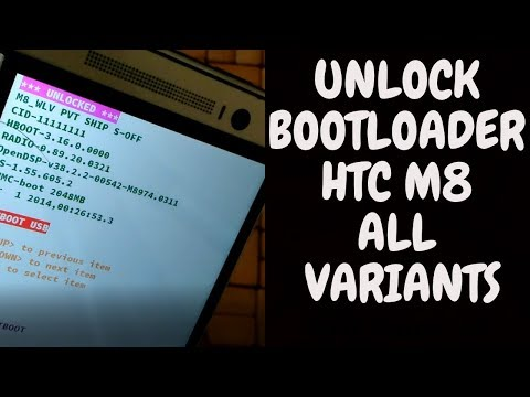 How To Unlock Bootloader Of HTC One M8 | All Variants