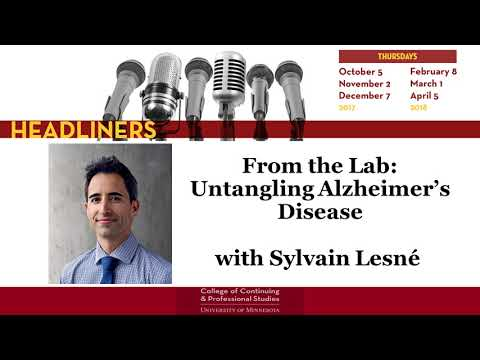 From the Lab: Untangling Alzheimer's Disease