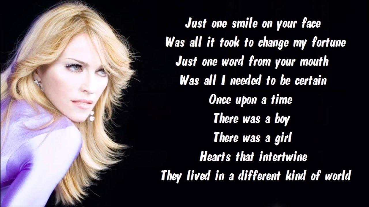 Madonna - Forbidden Love (Music Video) - YouTube