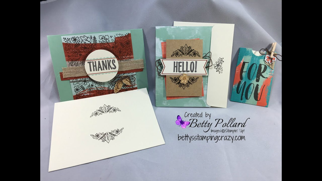 August Paper Pumpkin 2016 Stampin39 Up Youtube