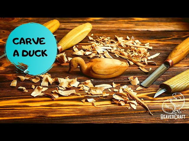 Duck Carving Tutorial for Beginners