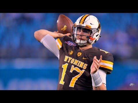 Strongest Arm in College Football || Wyoming QB Josh Allen 2016 Highlights ᴴᴰ