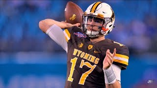Strongest Arm in College Football || Wyoming QB Josh Allen 2016 Highlights ᴴᴰ thumbnail