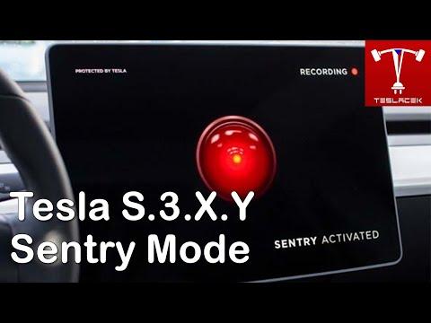 #82 Tesla Model S.3.X.Y Sentry Mode 1.0 | Teslacek