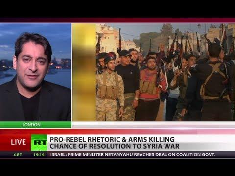 UK, France vow to arm Syrian rebels despite embargo