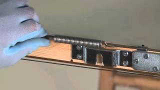 видео Механизмы открывания раздвижных дверей