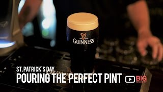 Pouring the perfect pint of Guinness for St. Patrick's Day Top 10 Video