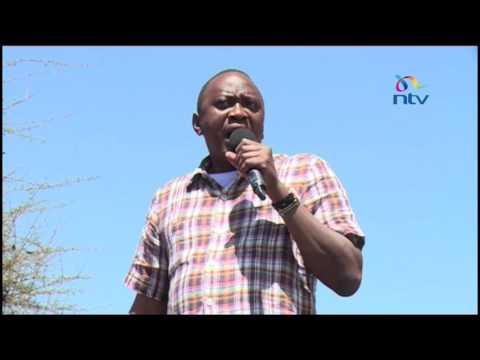 President Kenyatta outlaws export of maize from Kenya