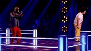The Voice UK 2013 | Trevor Francis Vs Lem Knights: Battle Pe...