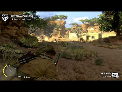 Sniper Elite 3 Playthrough Part 25 |