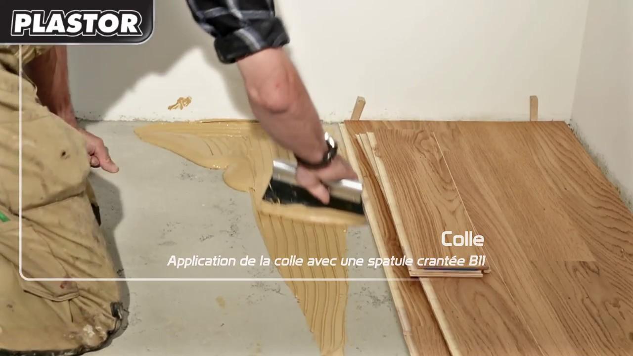 collage d 39 un parquet contrecoll youtube. Black Bedroom Furniture Sets. Home Design Ideas