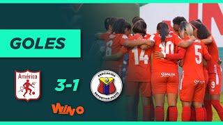 América vs. Pasto (3-1)   Liga Femenina BetPlay Dimayor - Fecha 6