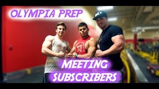Olympia Prep - Ep. 3 - Meeting Subscribers, How-to Carb Cycle, Podcast