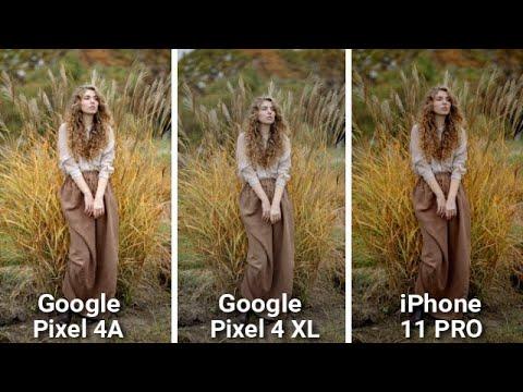 Google PIXEL 4A VS Google PIXEL 4 XL VS iPhone 11 Pro CAMERA COMPARISON