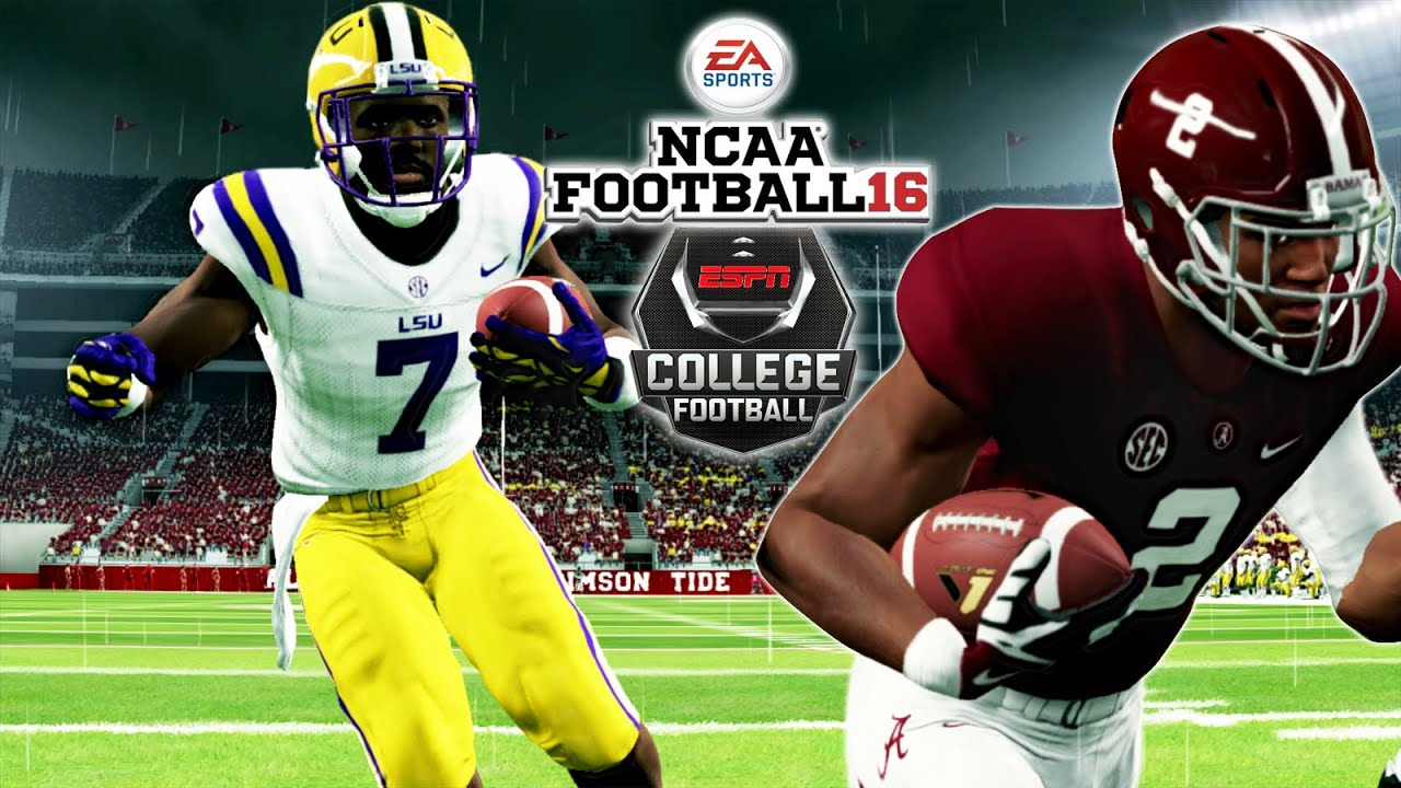 Ncaa Football 16 2 Lsu At 4 Alabama L Fournette Or D Henry