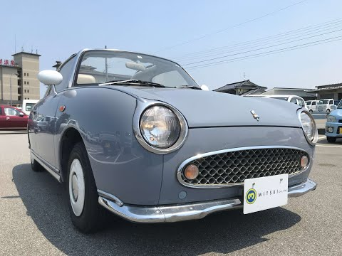 For Sale 1991 Nissan Figaro FK10-017493 Japanese Used Car Export #nissan #figaro #pike