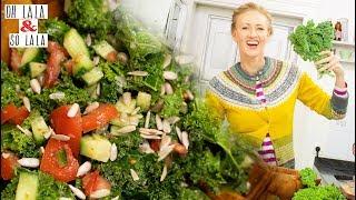 Der ultimative Beauty Detox Salat *  Gibt viel Power in der Diät * Leckeres Dressing