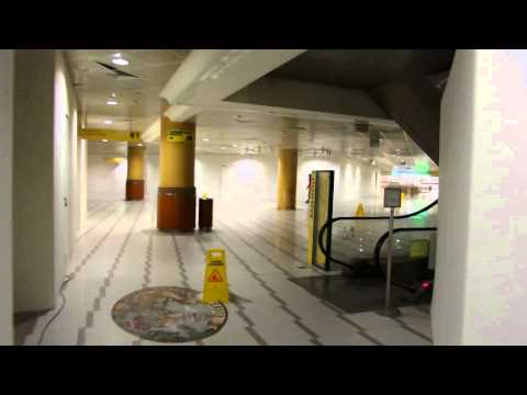 abandoned shopping mall - closed for renovation