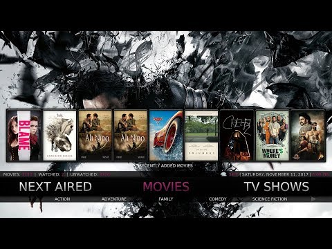 THE MOST COMPLETE KODI 17.6 BUILD FOR YOUR KODI DEVICE IN 2017