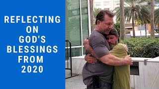 Reflecting on God's Blessings from 2020 - To the song Beautiful by MercyMe