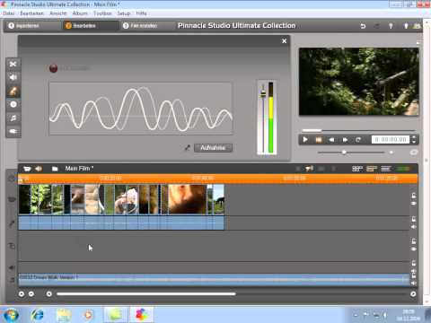 Audiokommentar hinzufügen in Pinnacle Studio 14 und 15